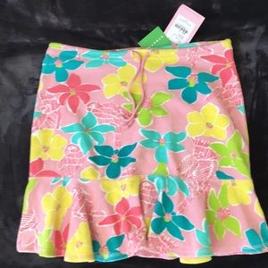 Lilly Pulitzer Pixie Skirt Terrycloth Clam Pink